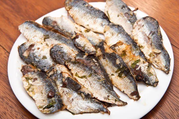 Preparando sardinas al horno. Receta - Comedera.Com