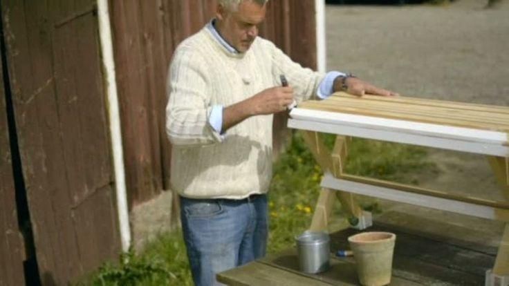 Lär dig bygga Ernst trädgårdsbänk