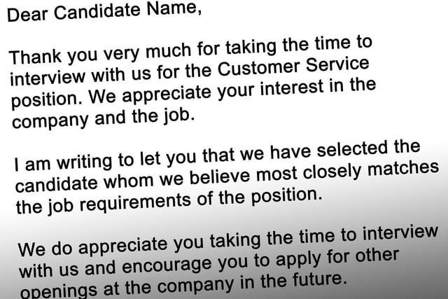 Best Tips for Writing an Interview Rejection Letter Interview - rejection letter after interview