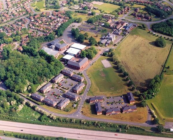 The University of Wolverhampton's Telford Campus.