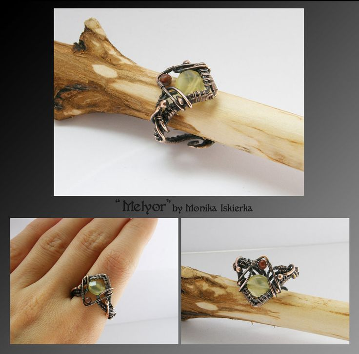 Best Wire Wrapped Rings Images On Pinterest Wire Rings Wire - Cute diy wire rings for middle phalanges