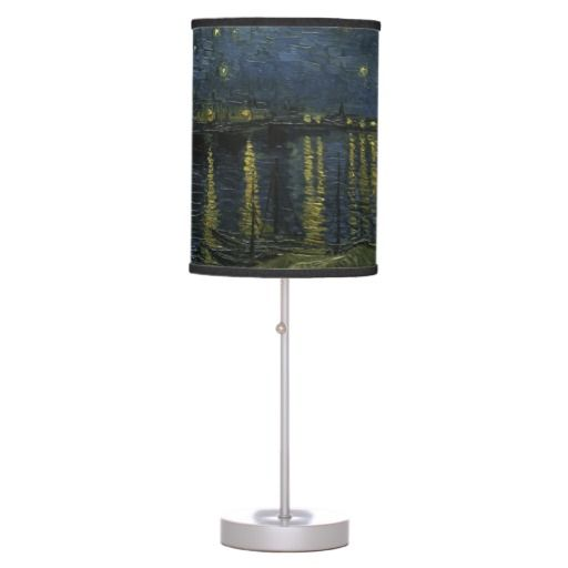 Starry Night Over the Rhone by Van Gogh Table Lamps