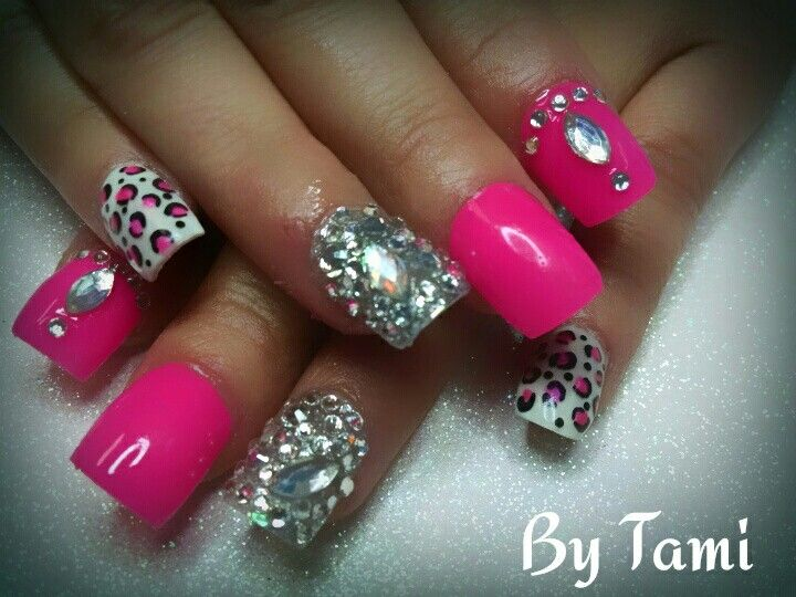 Pink Duck Nails