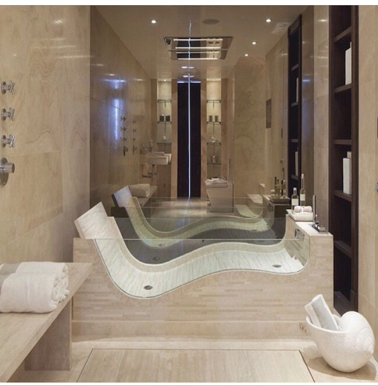 Dramatic bath