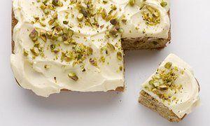 Fresh Ginger Coffee Cake - Dan Lepard's recipe ❤❤ (se puede sustituir el jengibre confitado por orejones de albaricoque)