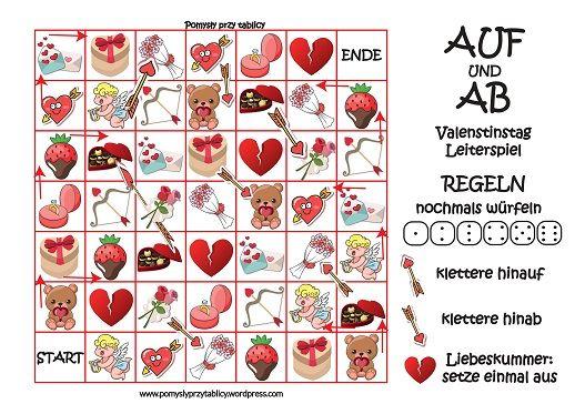 Gra planszowa Deutsch Valentinstag