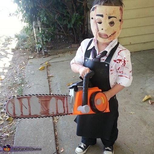 Leatherface's Son - 2013 Halloween Costume Contest