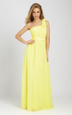 mind-blowing one shoulder yellow bridesmaid dress on sale - sheinbridal by jarrell in Retroterest. Read more: http://retroterest.com/pin/one-shoulder-yellow-bridesmaid-dress-on-sale-sheinbridal/