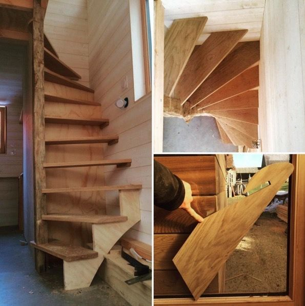 Small Homes That Use Lofts To Gain More Floor Space: 25+ Best Ideas About Tiny House Stairs On Pinterest