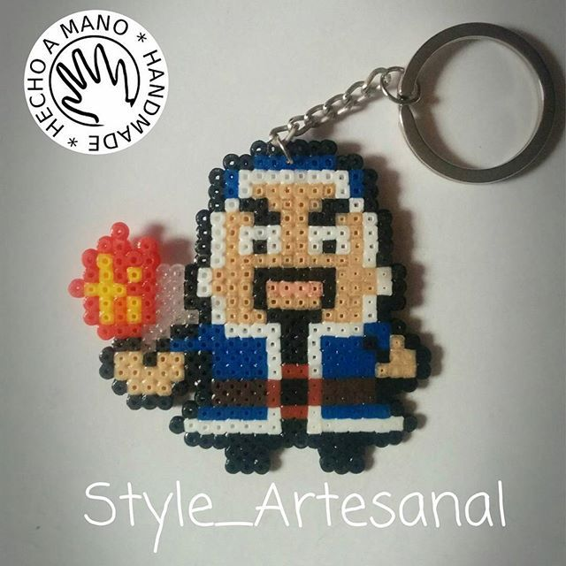 Wizard - Clash of Clans hama mini beads by style_artesanal  If Clash Of Clans is a struggle, these tips are super, and easy to follow. https://www.facebook.com/BestFreeBrowserGames/