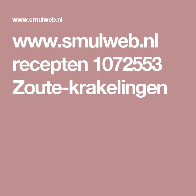 www.smulweb.nl recepten 1072553 Zoute-krakelingen