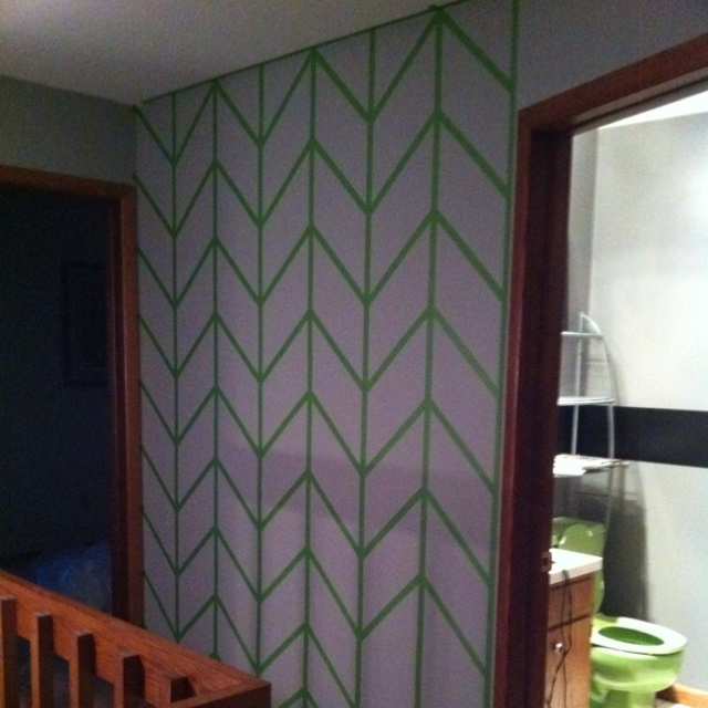 17 best images about wall ideas on pinterest the wall accent walls and roller coasters - Paint Tape Design Ideas