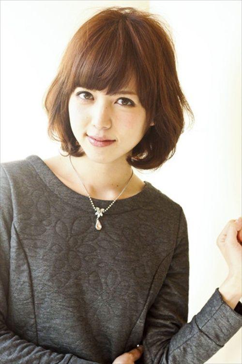 Japanese hairstyles for medium length hair.