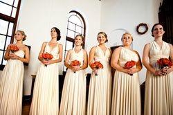 Como vestir a las damas de honor