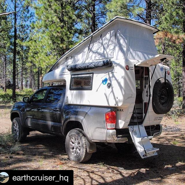 We're super-excited to see the new GZL Slide-in Camper from @earthcruiser_hq at Overland Expo 2016 EAST! Come see it in person!! ・・・ Step on into our new GZL. For more information follow the link in our bio. #EarthCruiser #TruckCamper #OverlandExpedition