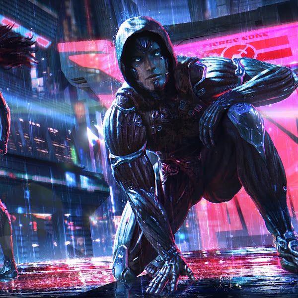 Cyberpunk Sci Fi Digital Art 4k 3840x2160 Wallpaper Sci Fi Wallpaper Cyberpunk Cyberpunk Art