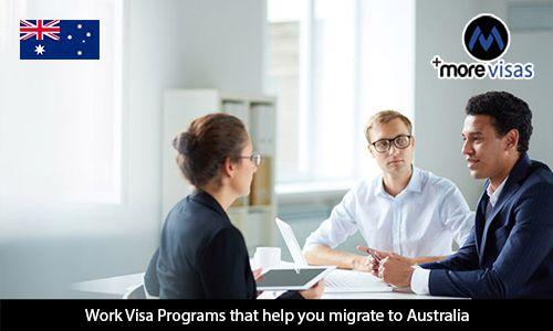 #WorkVisa Programs that help you #MigratetoAustralia  https://www.morevisas.com/australia-immigration/work-visa-programs-that-help-you-migrate-to-australia/