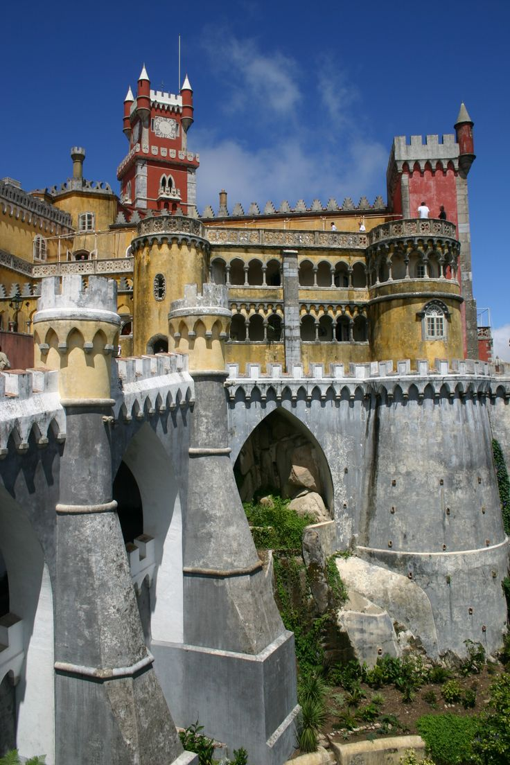 Sintra, Portugal | Pena National Palace (1839-1885), Sintra, Portugal