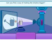 Light and shadows Interactive Activity