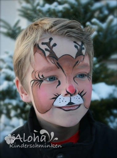 rudolf rendier: Rudolf Reindeer, Rudolf Rendier, Reno Rudolf, Faces Painting, Facepaint