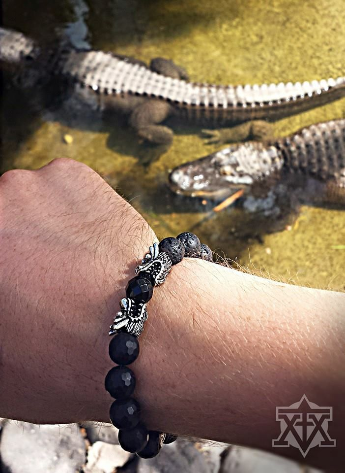 Black Dragons Bracelet by FXMX Empire