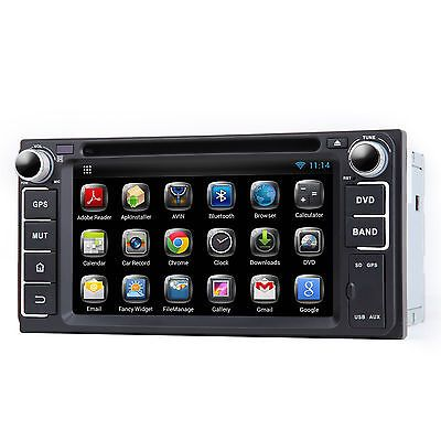 Price - $317.18.ㅤㅤㅤ                For Toyota Corolla EX Crown Vios 2 DIN Android Car DVD Player U Stereo GPS Wifi