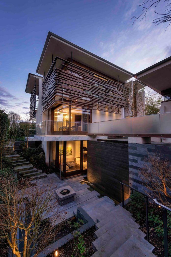 W38th Residence, a synthesis of West-coast and Eastern modernism by RUFproject - CAANdesign | Architecture and home design blog