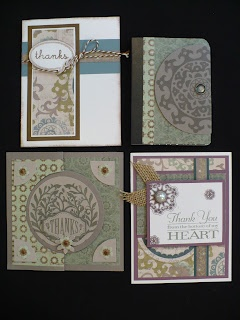 4 cards from different ladiesCtmh Avonlea, Products Artworks, Avonlea Paper, New Products