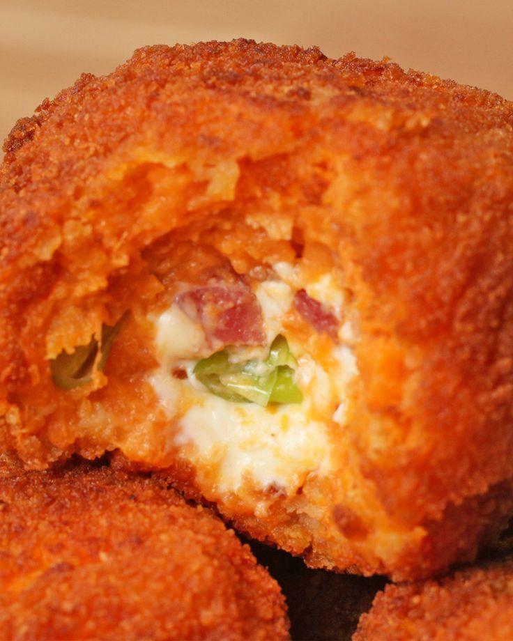 Stuffed Sweet Potato Croquettes