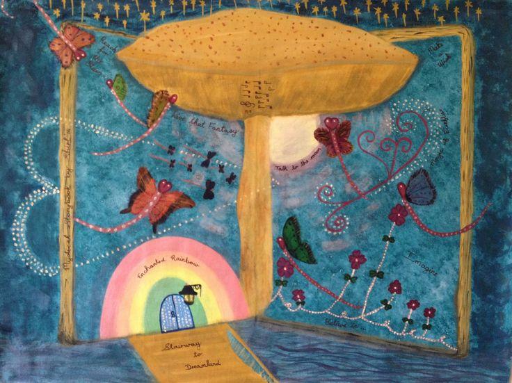 Fantasy by Shirl, Acrylic on canvas