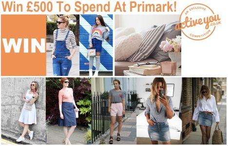 Win Free £500 Primark Voucher To Spend At Primark Stores UK #Fashion #Voucher #Primark #PrimarkStoresUK #Shopping