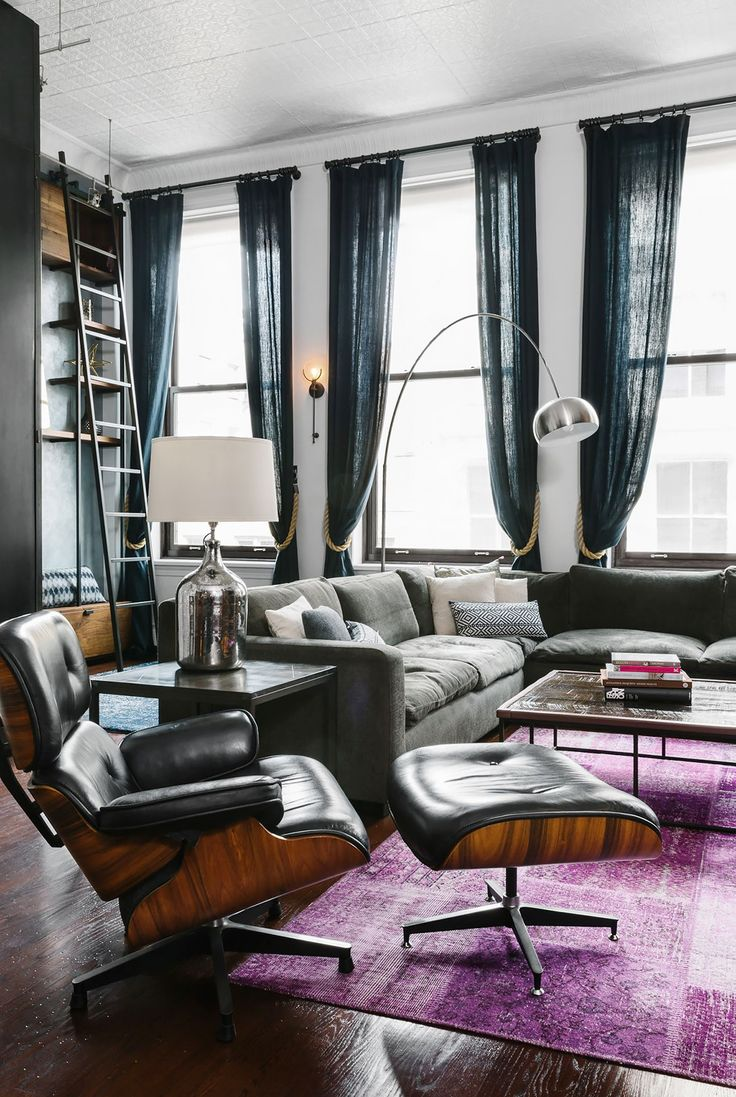 Urban loft style apartment for big family in new york city - Home Tour A Hip Couple S Downtown Nyc Loft