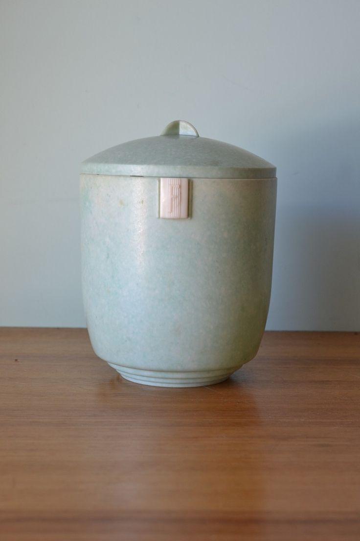 53 best Vintage Kitchen canisters images on Pinterest