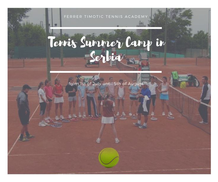 Ferrer Timotic Tennis Academy for the fifth time is organizing a Tennis summer camp in Belgrade Serbia. Registration open for FTTA Summer Camp 2017. Learn tennis techniques from professional tennis players. Like & Share. Register at
