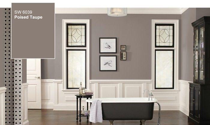 die 25 besten wandfarbe taupe ideen auf pinterest burgunderrotes dekor taupe wohnzimmer und. Black Bedroom Furniture Sets. Home Design Ideas