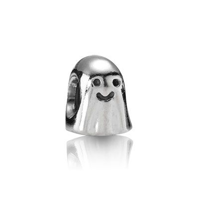 Ghost charm in sterling silver. #PANDORA #jewelry #halloween