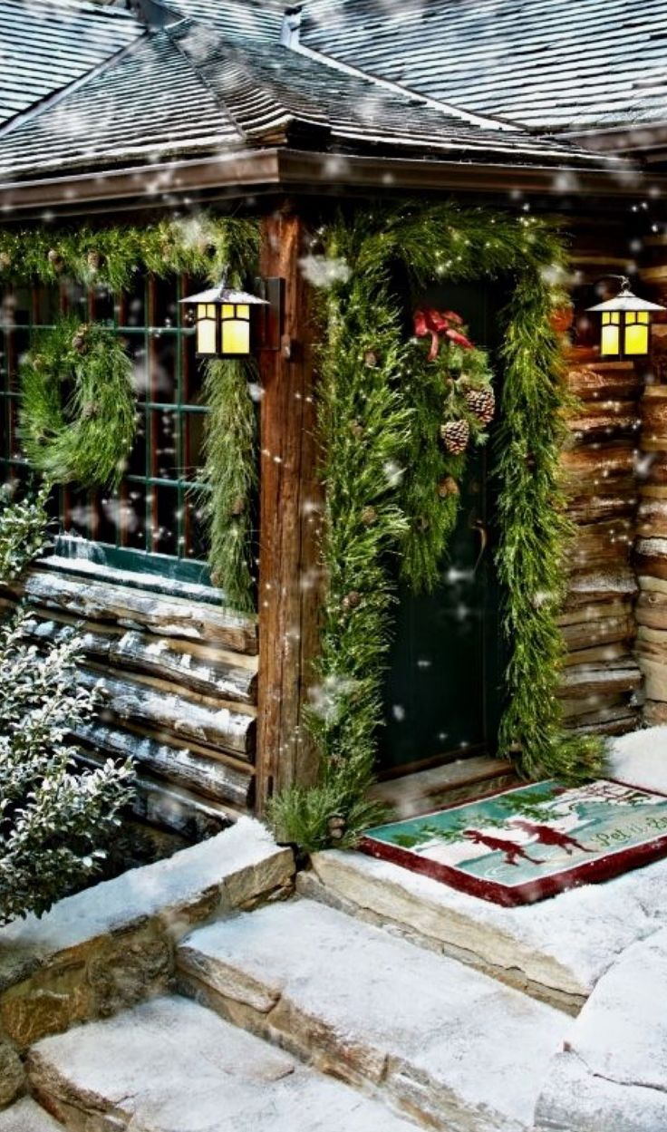 Perfect spot to cozy up for the holidays. Cabin Fever!