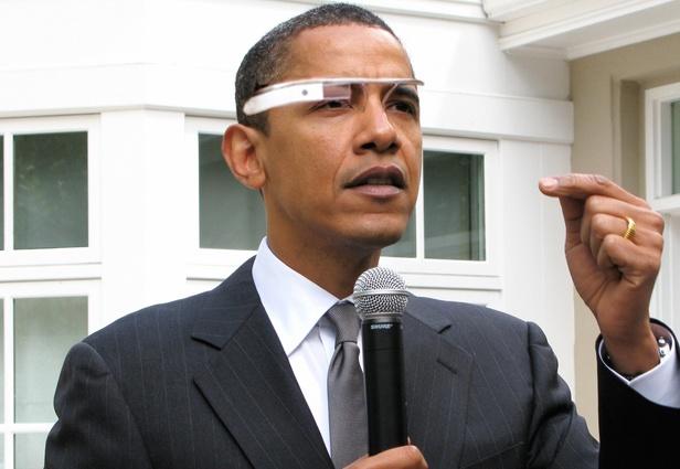AR-glasses on famous people   http://mashable.com/2012/04/08/google-glasses-on-celebrities/