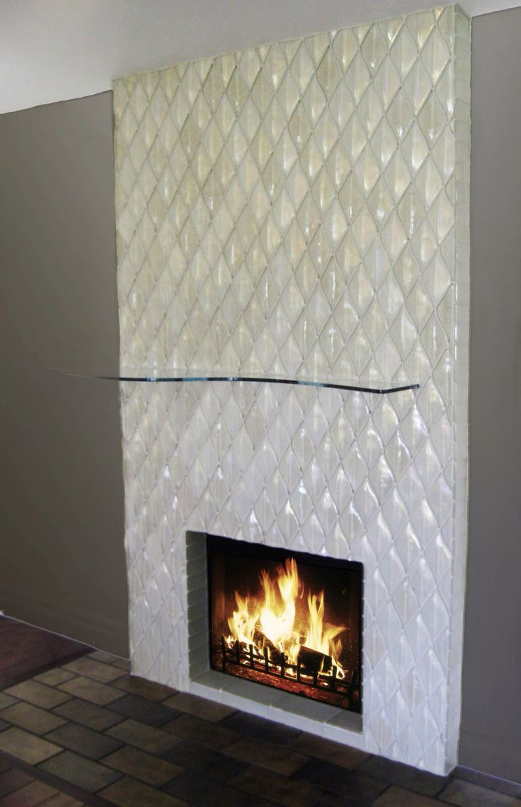 31 best fireplace tiles images on pinterest | glass tiles
