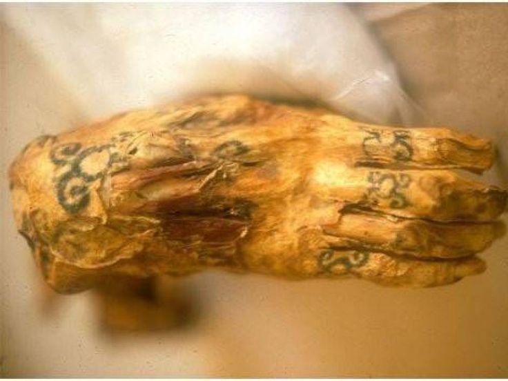 Ancient Tattoos On Mummies - All Day