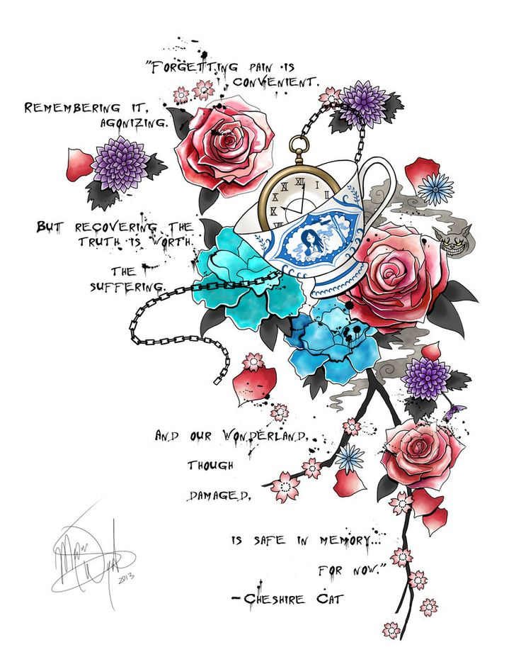 Flowers From Alice In Wonderland Quotes