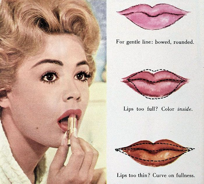 Sandra Dee – 1960s makeup Tips – lips
