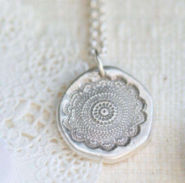 12 best salt dough necklaces etc info images on pinterest clay black lace fine silver necklace another salt dough ides aloadofball Choice Image
