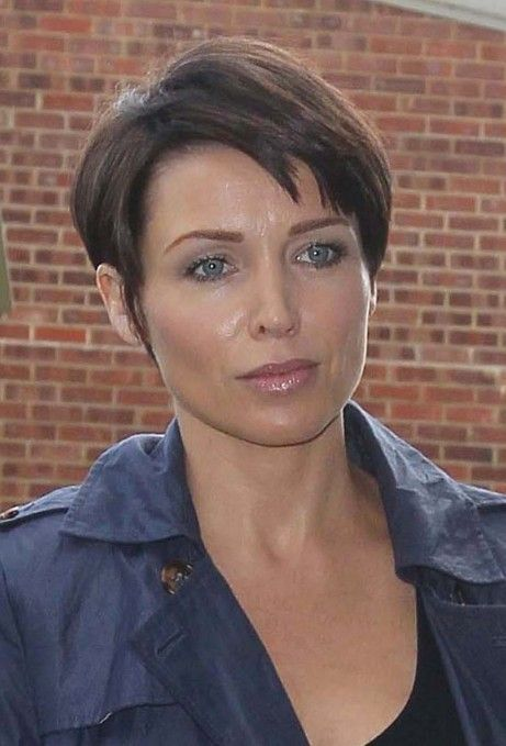 Short Hair Styles For Older Women | Picture of Dannii Minogue Short Boyish Hairstyle for Mature Women ...
