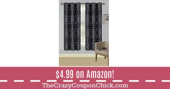 **HOT** 63' & 84' Room Darkening Shades ONLY $4.99 Shipped on Amazon!