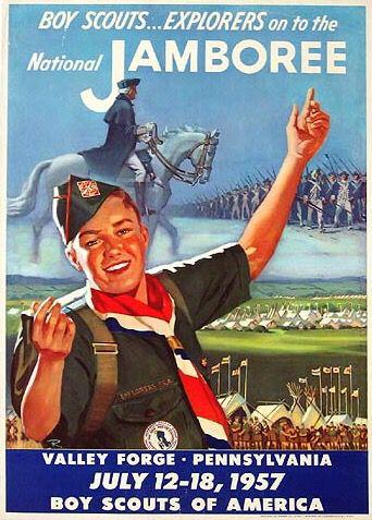 Boy Scouts Jamboree 1957