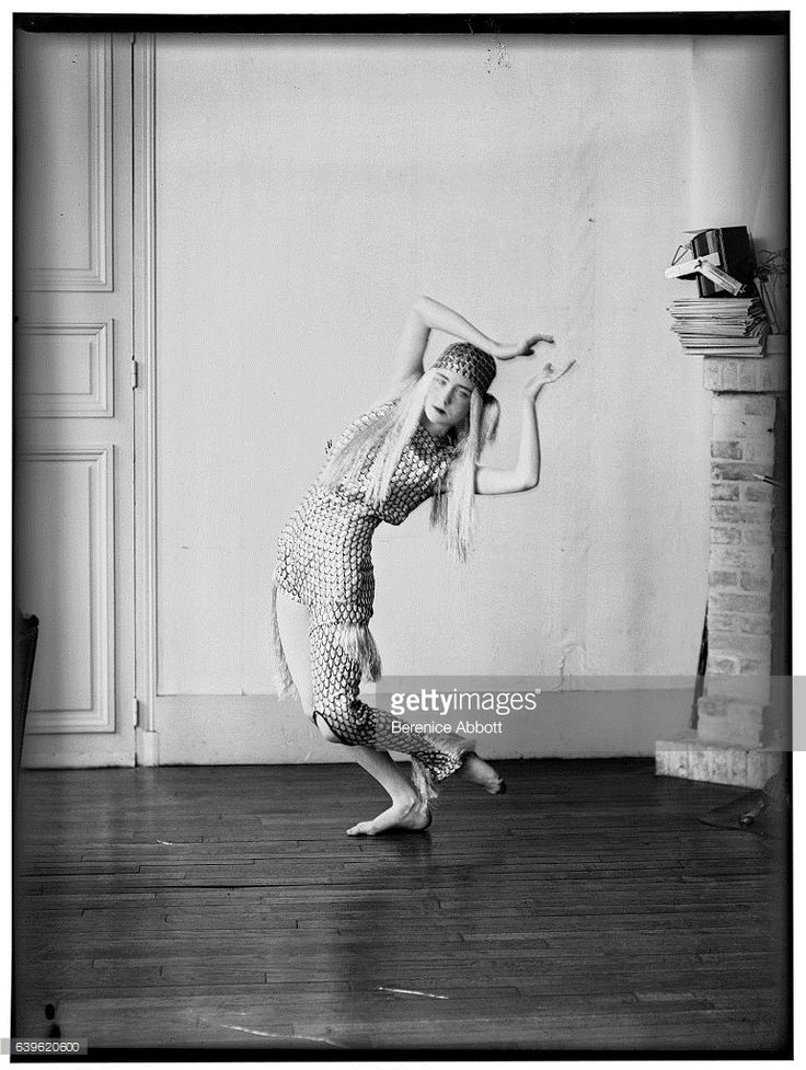 View of Italian-born Irish dancer Lucia Joyce (1907 - 1982) as she dances, 1920s. She was the daughter of Irish author James Joyce and his wife, Nora Barnacle.