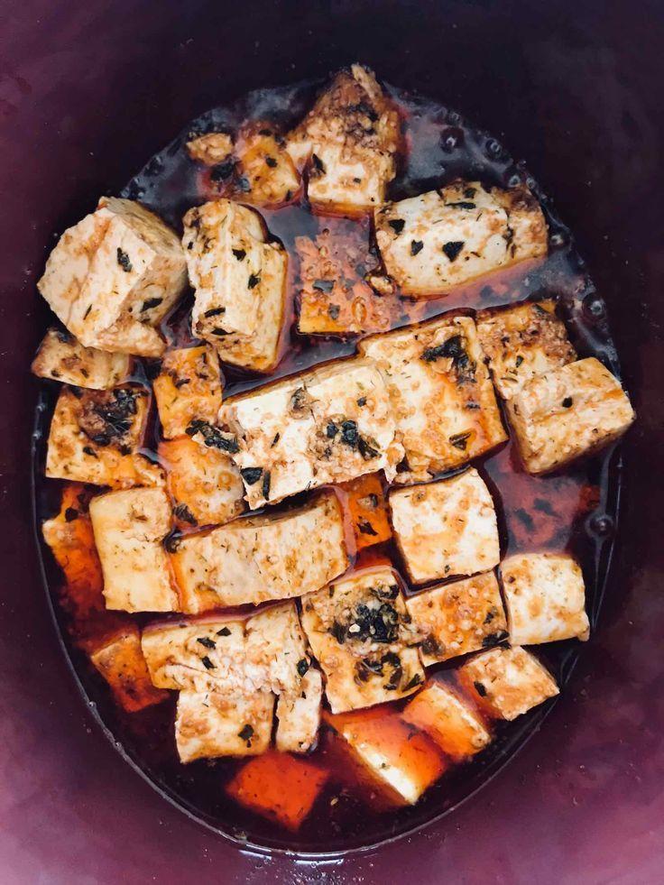 The Actor S Diet Lynn Chen Recipe Vegetarian Crockpot Recipes Vegetarian Crockpot Buffalo Tofu