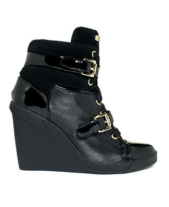 MICHAEL Michael Kors Shoes, Skid Wedge Sneakers - Shoes - Macy's