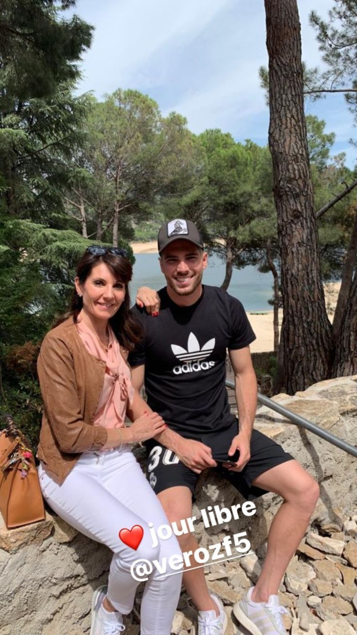 Luca Zidane with his mom Fashion, Lucas, Adidas